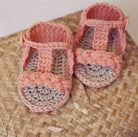 how to crochet baby sandals crochet baby boy sandals