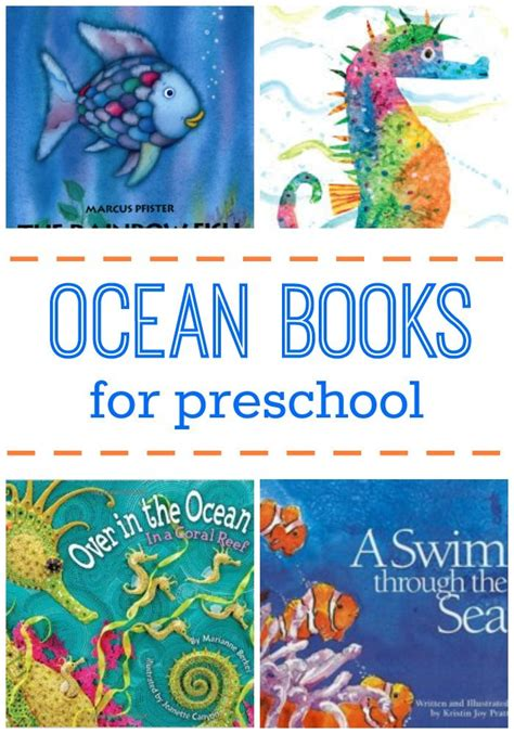 literature themed projects ocean picture books for preschoolers math literacy