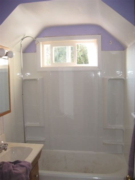 bathtub surround with window schatz carpentry maintenance handyman
