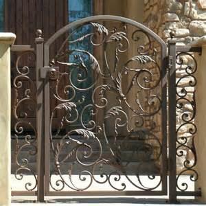 decorative metal garden gates decorative metal gate and