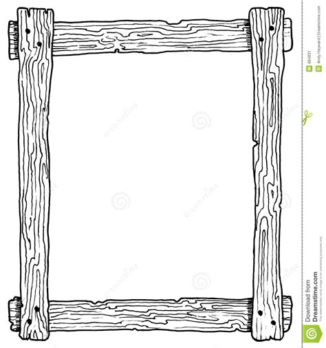 frame clip frame wood clipart clipground