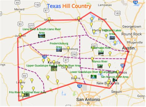 great hill country places to stay play eat more