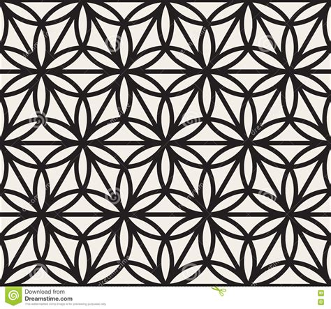 geometric patterns black and white circle vector seamless black and white geometric circle triangle