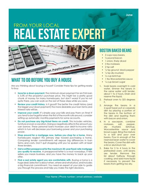 Farm June Newsletter D3 First Tuesday Journal Commercial Real Estate Newsletter Template