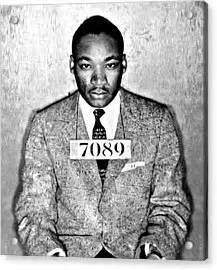 Martin Luther King Arrest Records Martin Luther King Mugshot Photograph By Bill Cannon