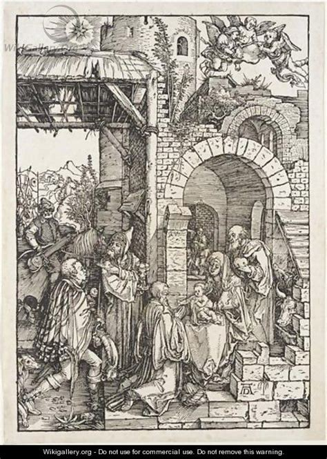 Lukisan The Adoration Of The Magi Karya Albrecht Durer 1504 Replika the adoration of the magi 2 albrecht durer wikigallery org the largest gallery in the world
