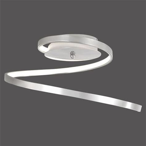 led semi flush ceiling lights wave led ceiling light 15129 55 the lighting superstore