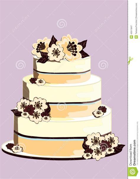 Hochzeitstorte Milch Und Schokolade by Hochzeitstorte Verziert Mit Blumen Der Wei 223 En Schokolade