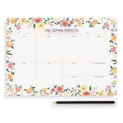 Lucia Calendrier 2018 Planificador Semanal Weekly Planner Painapol