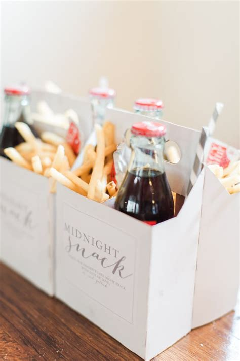 Wedding Favors Food by Late Reception Snacks To Keep The Rocking I