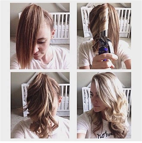 Best Way To Get Hair The by 17 Best Ideas About Easy Hair Curling On