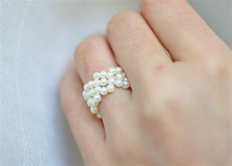 how to make a beaded ring 10 s day jewellery gift ideas to make yourself
