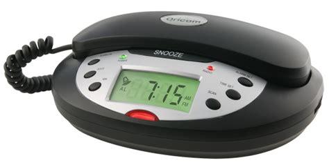 oricom tcr10bk telephone clock radio alarm clock digital