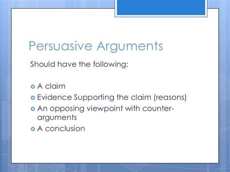Persuasive Writing Lesson Powerpoint Persuasive Powerpoint Template
