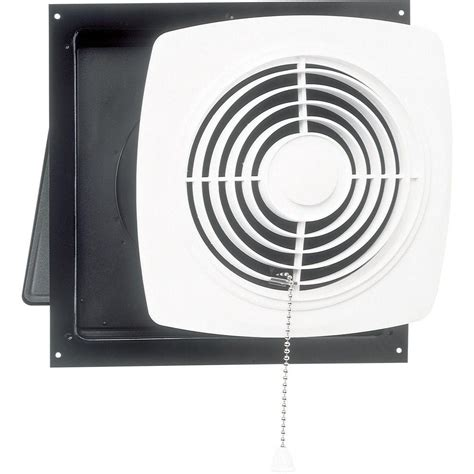 bathroom exhaust fan with pull chain 470 cfm wall chain operated exhaust bath fan 506 the home depot