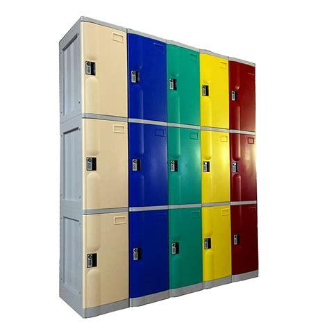 3 Tiers Plastic ABS Lockers   Avios