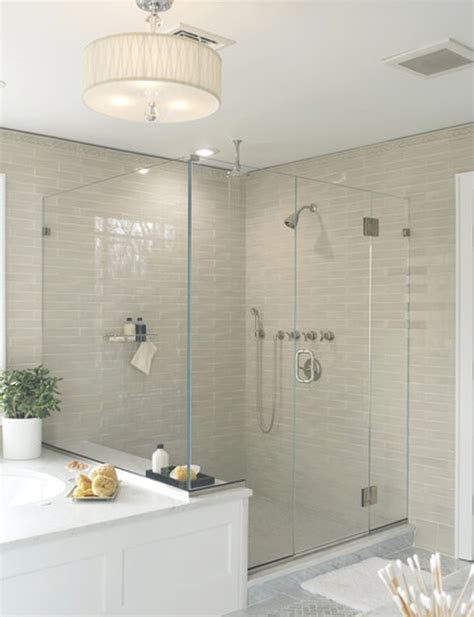 glass subway tile bathroom ideas subway tile b a s blog