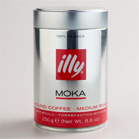Coffee Illy illy ground moka coffee world market