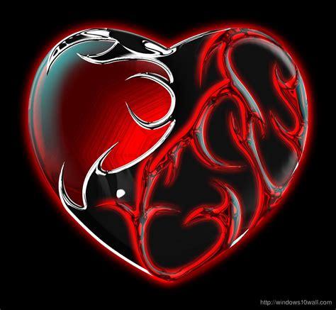 cool wallpaper love heart tribals heart hd cool wallpaper windows 10 wallpapers