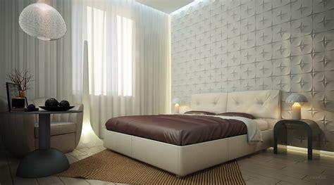 wallpaper dinding kamar tidur modern