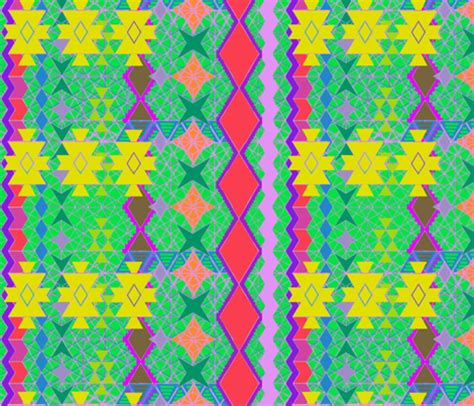 universe pattern fabric aztec universe bright fabric bloomingwyldeiris spoonflower