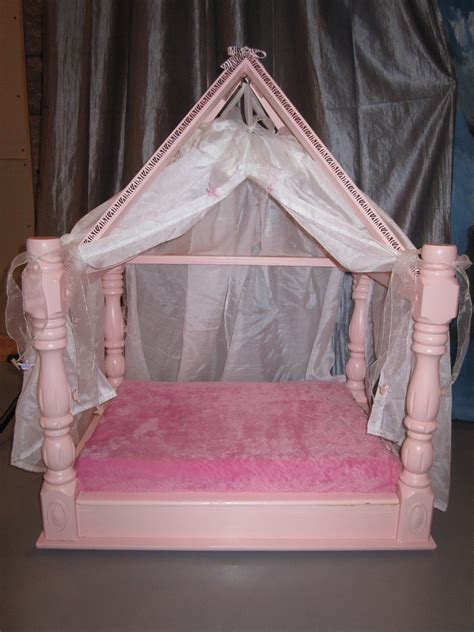 princess canopy bed 1 doggroomingbyjanice