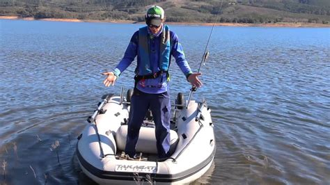 inflatable boat fishing youtube takacat inflatable boats shallow freshwater fishing