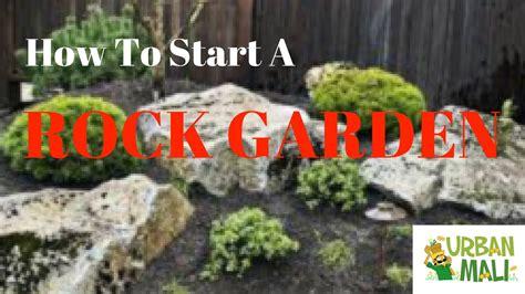 how to start a rock garden how to start a rock garden urbanmali