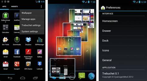 trebuchet launcher apk trebuchet launcher официальный cm9 загрузчик представлен для android 4 0 3
