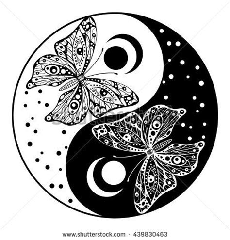 yin yang butterfly tattoo designs 85 best images about jin jang on