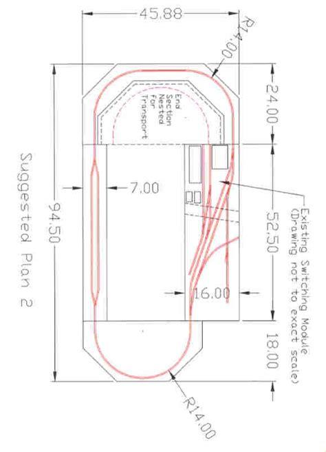 layout design sig bmrc n scale sig switching module loop layout