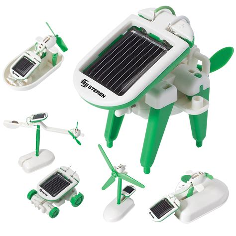 solar powered kit steren 6 in 1 solar powered kit
