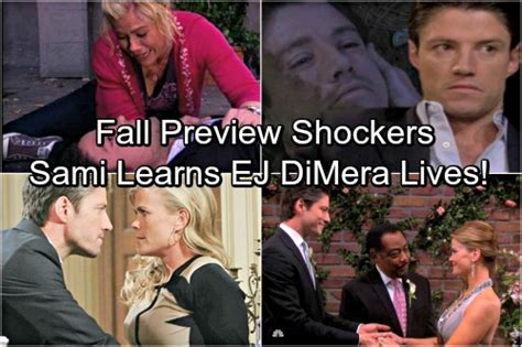 days of our lives spoilers ej dimera alive and returning days of our lives spoilers fall preview will s return
