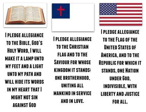 printable lyrics to the pledge of allegiance the 25 best christian flag ideas on pinterest american