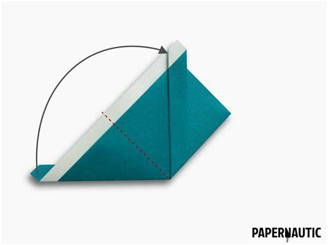 Origami Samurai Hat - samurai hat origami design papernautic