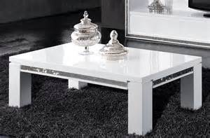 table basse table basse blanc laqu 233 strass moins cher
