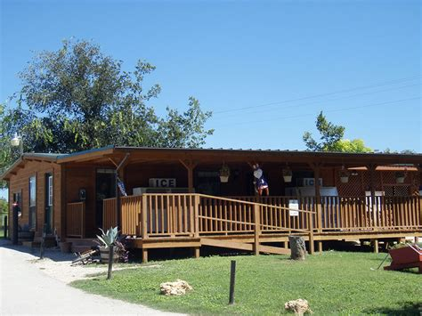 San Marcos Cabins On The River by Rv Park And Cground Amenities