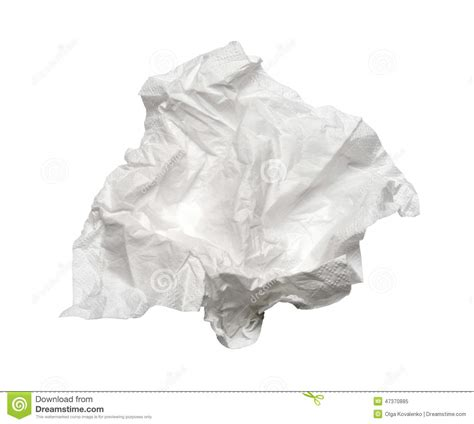 square  napkin isolated  white stock photo image