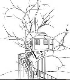 tree house sketch by lordsarum cg portfolio for digital