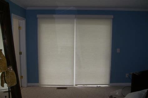 Patio Door Roller Blinds Rollers Roller Blinds And Sliding Rolling Shades For Sliding Glass Doors