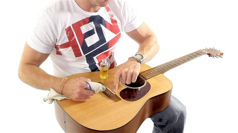how to clean a guitar acoustic guitar maintenance