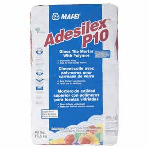 adesilex p10 premium glass tile mortar 43lb floor decor