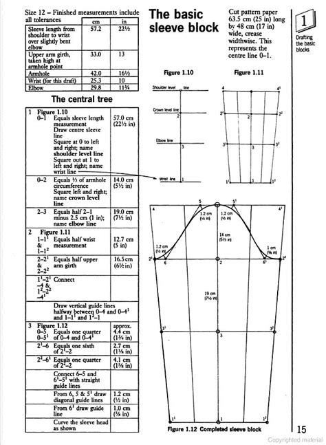 pattern drafting blocks 257 best all about sleeves images on pinterest