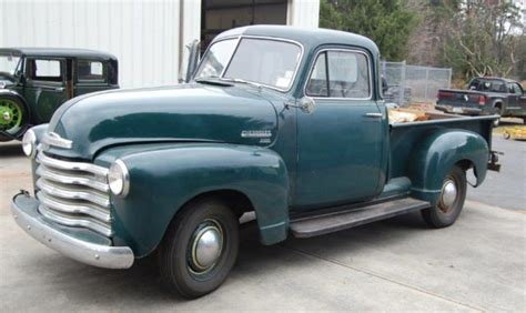 chevrolet model 3100 truck 1951 all original 15k