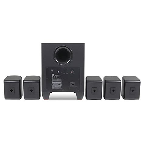 jbl cinema 510 5 1 home theater speaker system with