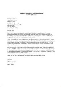 14 internship application letter sample pdf basic job