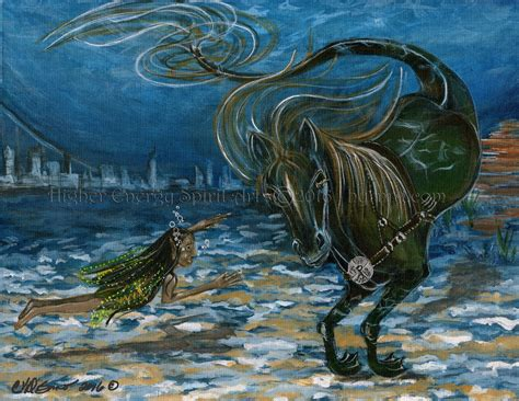 Journeys In The Mythic Sea kelpie disanovisions