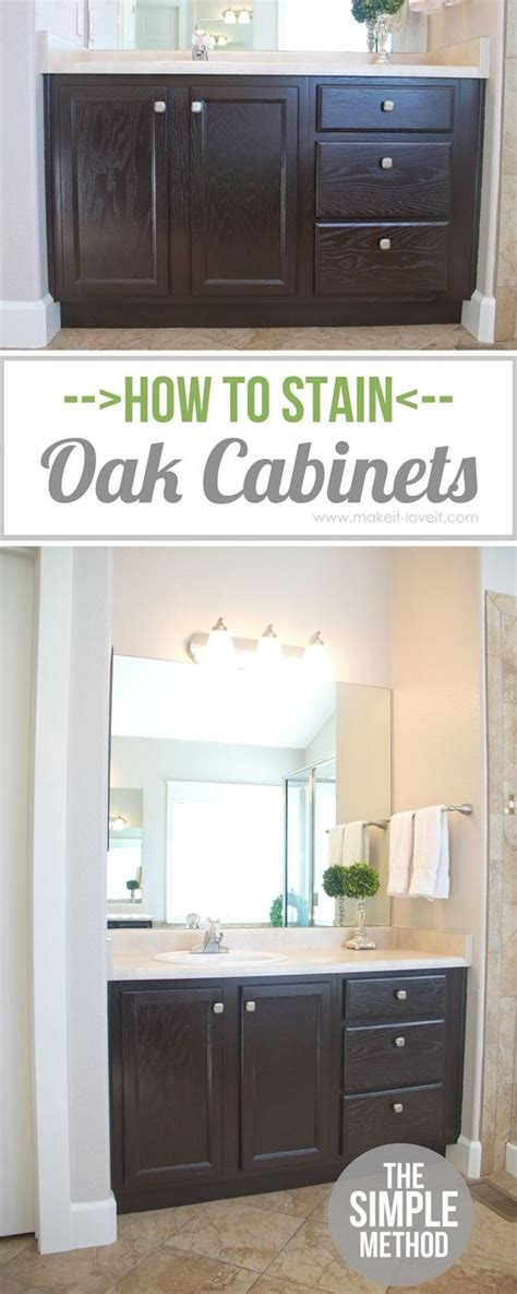 how to stain kitchen cabinets without sanding pinterest the world s catalog of ideas