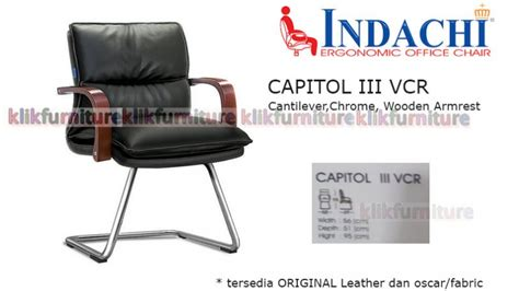 Kursi Visitor capitol iii vcr indachi kursi visitor agen termurah
