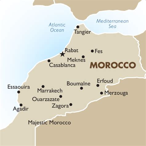 middle east map morocco morocco vacations tours travel packages 2018 19